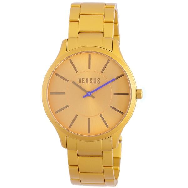 Versus Men's Alumini Gold Watch