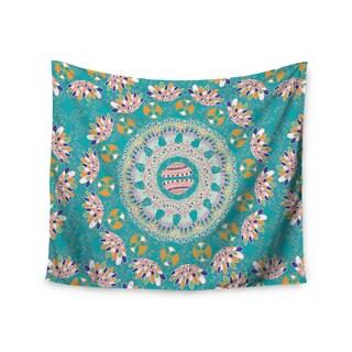 KESS InHouse Miranda Mol 'Luscious' Blue Pink 51x60-inch Tapestry