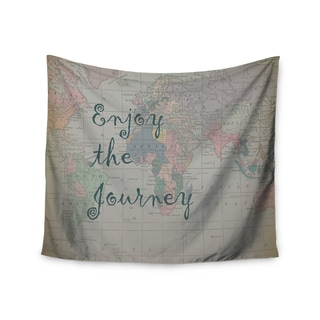 Kess InHouse Catherine Holcombe 'Journey' 51x60-inch Wall Tapestry