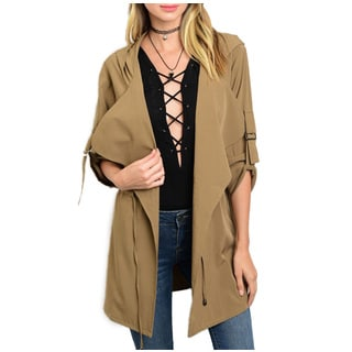 JED Women's Loose-fitting Light Hoodie Jacket