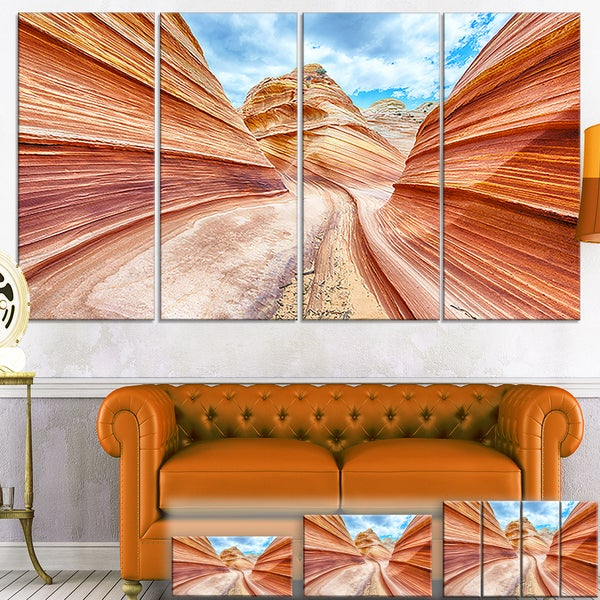 Swirling Dune Sandstones - Landscape Photography Canvas Print