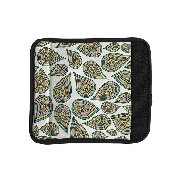 KESS InHouse Pom Graphic Design 'Its Raining Leaves' Luggage Handle Wrap