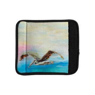 KESS InHouse Josh Serafin 'Coast' Ocean Bird Luggage Handle Wrap