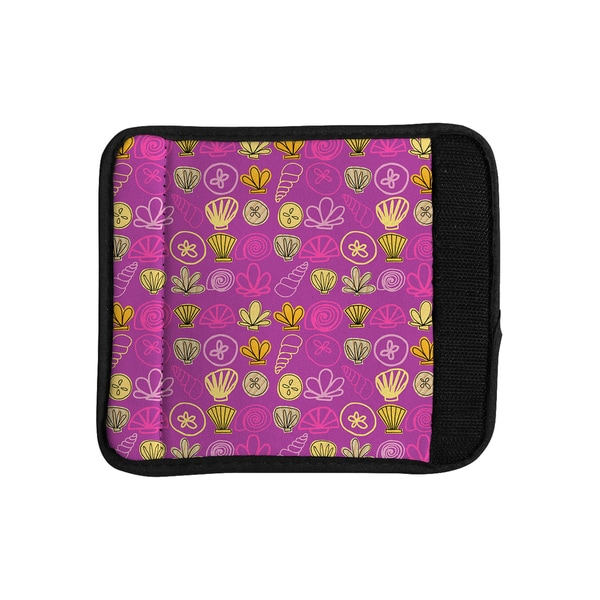 KESS InHouse Jane Smith 'Under the Sea Mermaid' Pink Gold Luggage Handle Wrap