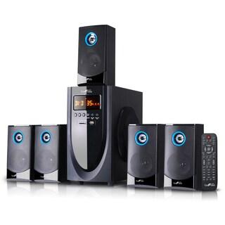 beFree Sound Black 5.1 Channel Surround Sound Bluetooth Speaker System