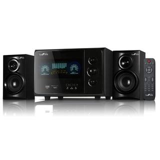 beFree Sound Black 2.1 Channel Surround Sound Bluetooth Speaker System
