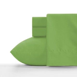 Crayola Jungle Green Soft Brushed Microfiber Sheet Set