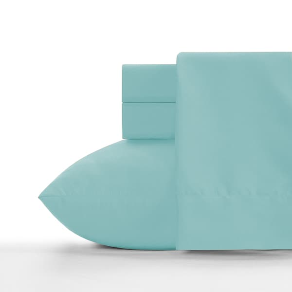Crayola Robin's Egg Blue Soft Brushed Microfiber Sheet Set