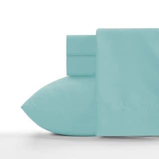 Crayola Robin's Egg Blue Soft Brushed Microfiber Sheet Set