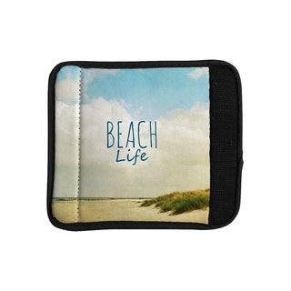 KESS InHouse Iris Lehnhardt 'Beach Life' Beach Blue Luggage Handle Wrap