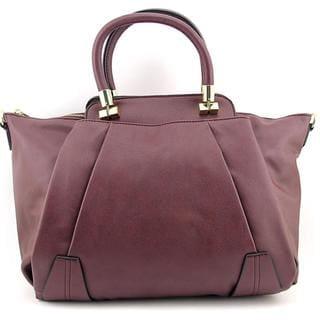 Danielle Nicole Women's Boleyn Satchel Red Fabric Handbags