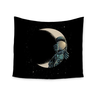 Kess InHouse Digital Carbine 'Crescent Moon' 51x60-inch Wall Tapestry