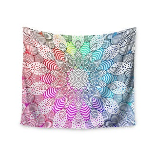 Kess InHouse Monika Strigel 'Rainbow Dots' 51x60-inch Wall Tapestry
