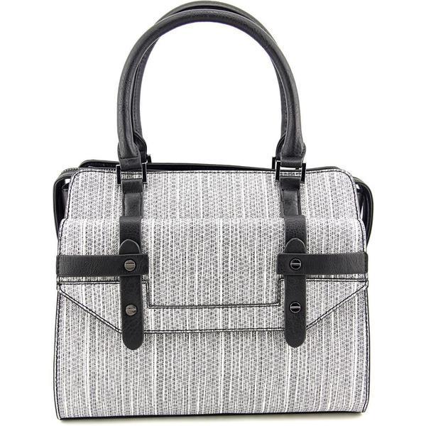 Danielle Nicole Women's 'Olina Satchel' Black Faux Leather Handbags