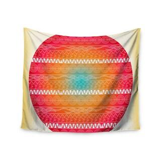 Kess InHouse Famenxt 'Romantic Pattern' 51x60-inch Wall Tapestry
