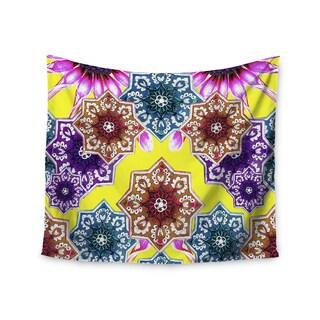 Kess InHouse Fernanda Sternieri 'Flower Power' 51x60-inch Wall Tapestry