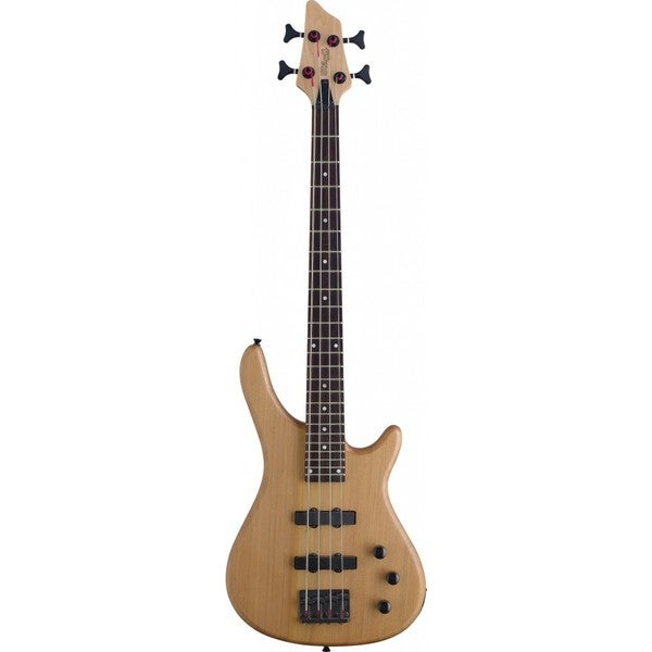 Stagg BC300 3/4 NS 'Fusion' Natural 3/4 Size Electric Bass Guitar