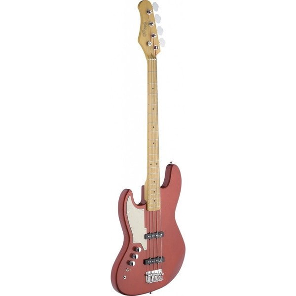 Stagg SBJ-50 MRD LH Metallic Red Left-handed Custom J-style Electric Bass Guitar