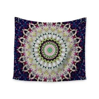 KESS InHouse Iris Lehnhardt 'Summer of Folklore' Pink Navy 51x60-inch Tapestry