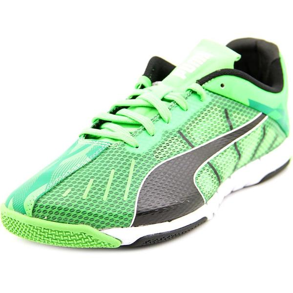 Puma Men's Neon Lite 2.0 Green Textile Running Shoes (As Is Item)