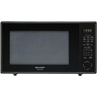 Sharp Carousel Black 2.2-cubic foot 1,200-watt Countertop Microwave Oven