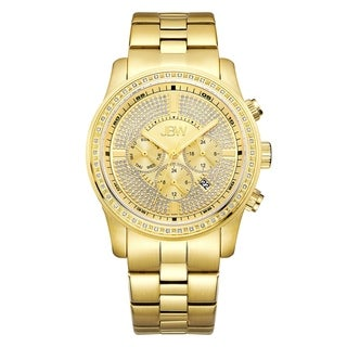 JBW Vanquish J6337B 18k Gold-plated Stainless Steel Diamond Multi-function Men's Watch