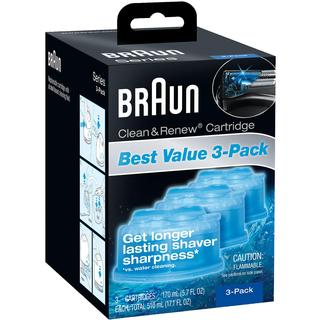 Braun Clean and Renew Refills (Pack of 3)