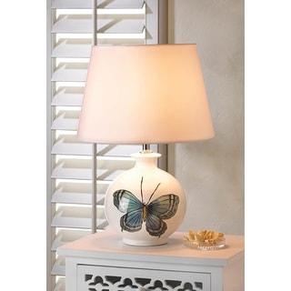 Admiral White Ceramic Table Lamp