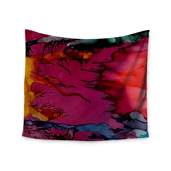 Kess InHouse Abstract Anarchy Design 'Marianas Trench' 51x60-inch Wall Tapestry