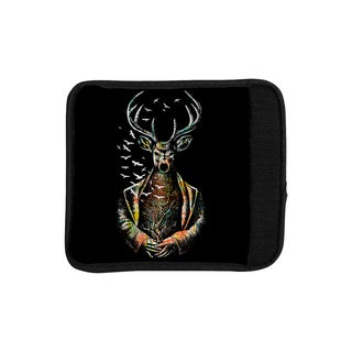KESS InHouse BarmalisiRTB 'There Is No Place' Multicolor Deer Luggage Handle Wrap