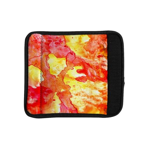 KESS InHouse Rosie Brown 'Hot Hot Hot' Luggage Handle Wrap