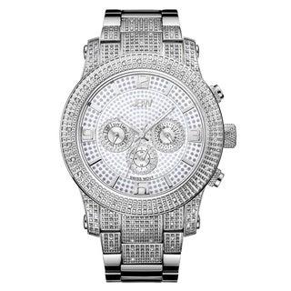 JBW Men's Lynx J6336E Stainless Steel Multi-Fuction Diamond Watch