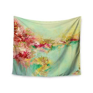 Kess InHouse Ebi Emporium 'When Land Met Sky 1' Red Green51x60-inch Wall Tapestry