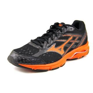 Mizuno Men's Wave Unite 2 Black/Orange Mesh Athletic Running Shoes