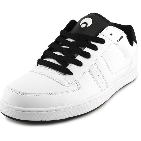Osiris Men's Relic White Leather Skate Shoes