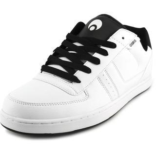 Osiris Men's Relic White Leather Skate Shoes