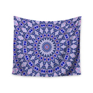 Kess InHouse Iris Lehnhardt 'Kaleidoscope Blue' 51x60-inch Wall Tapestry
