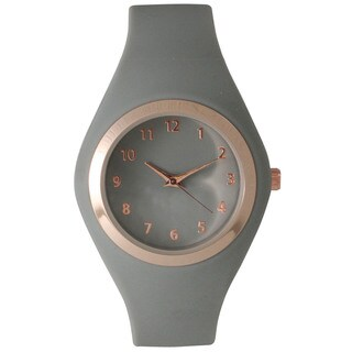 Olivia Pratt 15310 Women's Multicolor Silicone Minimalist Watch