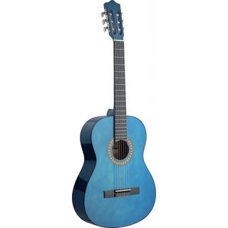Stagg C542 TB Transparent Blue Classical Guitar