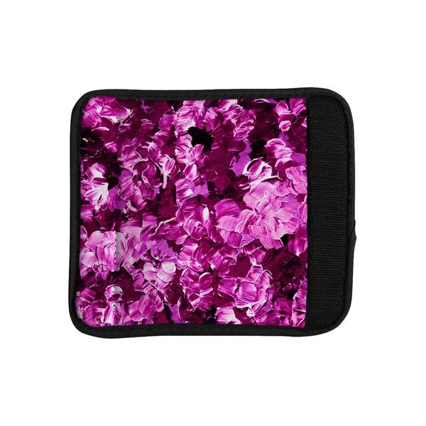 KESS InHouse Ebi Emporium 'Floral Fantasy III' Magenta Luggage Handle Wrap