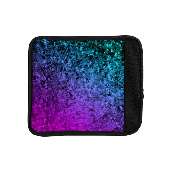 KESS InHouse Ebi Emporium 'Romance Me at Midnight' Teal Blue Luggage Handle Wrap