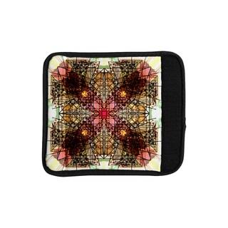 KESS InHouse Danii Pollehn 'Viereck' Geometric Luggage Handle Wrap