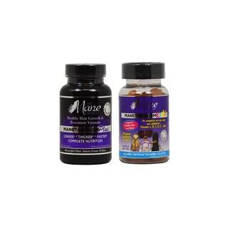 The Mane Choice Manetabolism Plus 60 Capsules and Kids 60 Gummies Vitamin