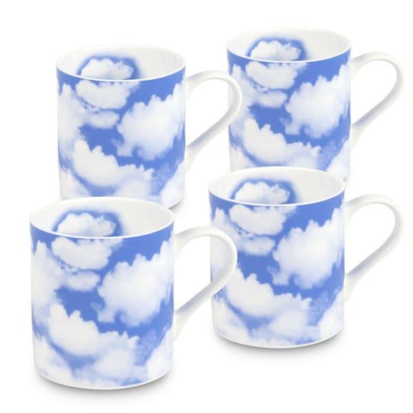 Konitz Waechtersbach Blue Sky Bone China Mugs (Set of 4)