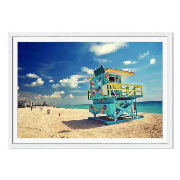 Sborisov 'South Beach 'Miami 'Framed Paper