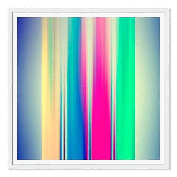 Kichigin19 'Blurred Lanes' Canvas Gallery Wrap