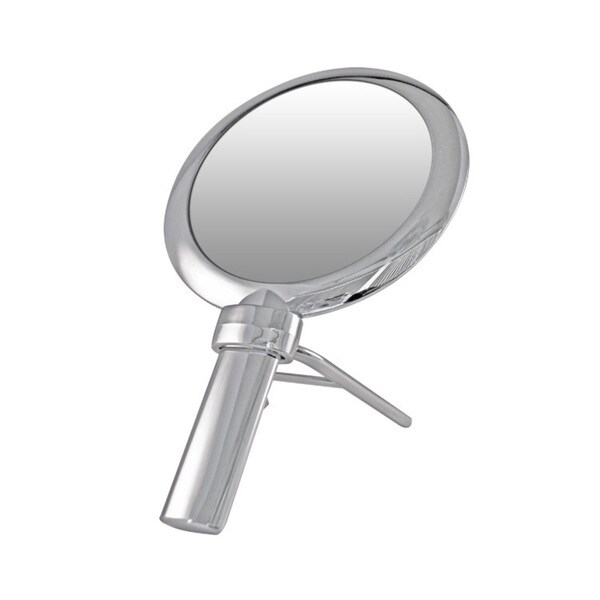 Handheld 1x/10x Magnification Round Mirror with Stand 19414461