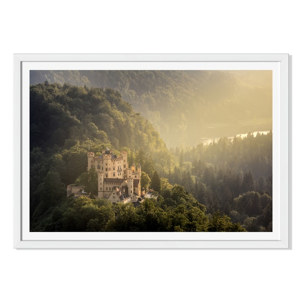 Vichie81 'Hohenschwangau Castle At Fussen Bavaria 'Germany 'Framed Paper