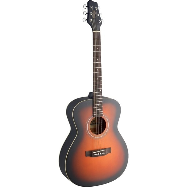 Stagg Auditorium Brownburst Acoustic Guitar