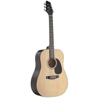 Stagg Dreadnought Natural Acoustic Guitar